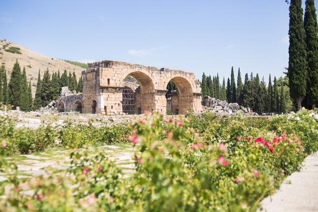 Antique roman hierapolis