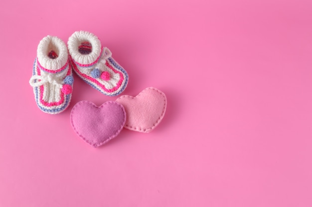 Anúncio do bebê para menina