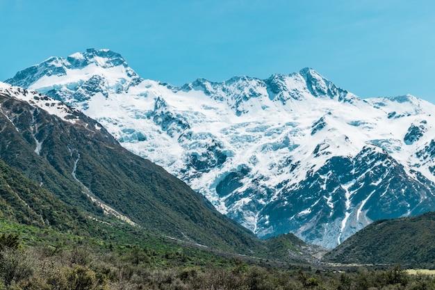 Aoraki / mount cook, a montanha mais alta da nova zelândia