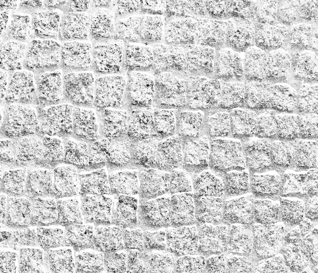 Apagados parede de tijolo pálida