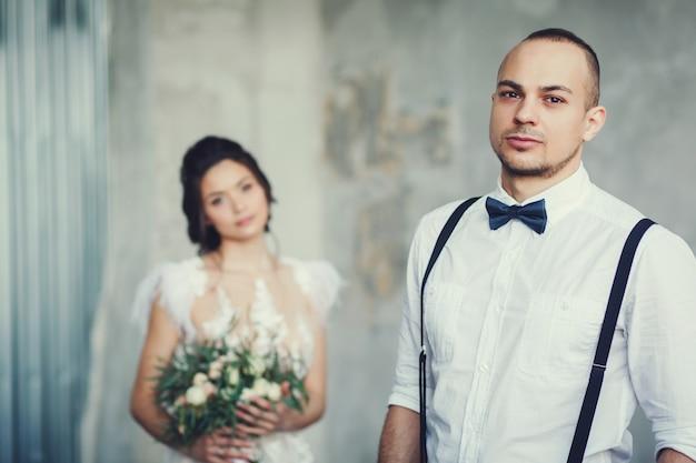 Apaixonado por um casal de noivos
