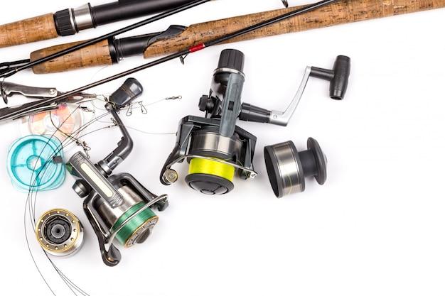 Aparelhos de pesca - vara, molinete, linha e iscas