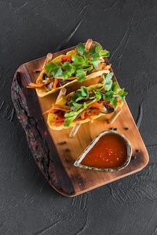 Apartamento leigos de comida mexicana