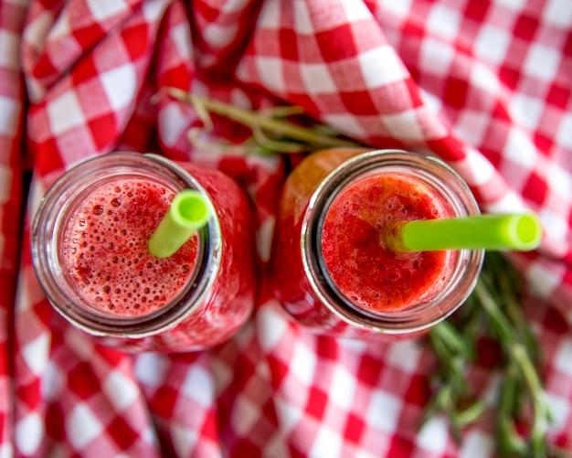 Apartamento leigos de suco de frutas saudável verão