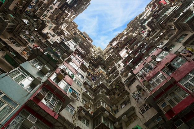 Apartamento residencial em hong kong