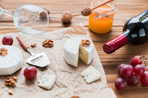 Aperitivo de queijo