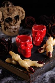 Aperitivos deliciosos de halloween