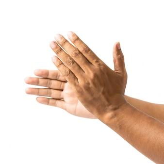 Aplaudir a mão