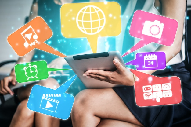 Aplicações multimídia e de computador