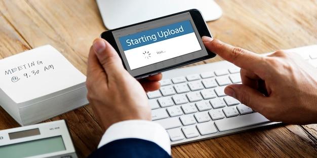 Aplicar o código do voucher iniciando o download
