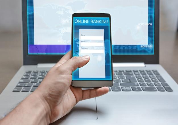Aplicativo de internet banking