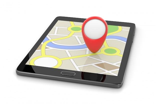 Aplicativo do sistema de navegação