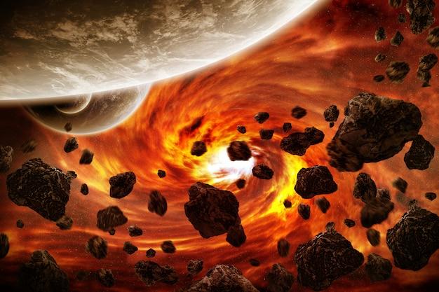 Apocalipse de explosão do planeta