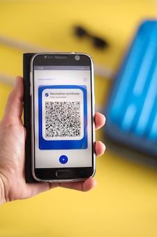 App covpass para smartphone covid19 passaporte de vacinação no celular para viagens passe digital