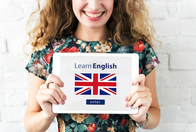 Aprenda o conceito de educação on-line da língua inglesa