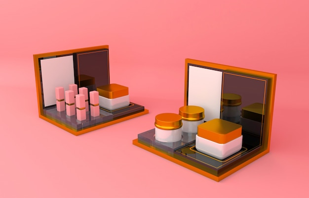 Apresentação do produto cosmético