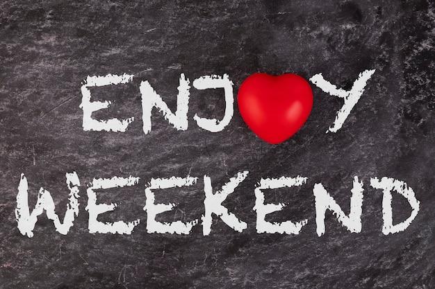 Aproveita o fim-de-semana