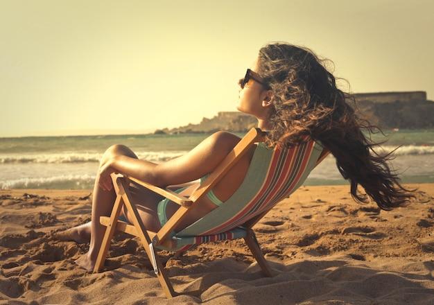 Aproveitando o sol de verão