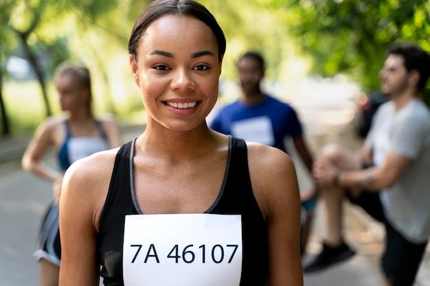 Aproxime o treinamento de corredores para a competição