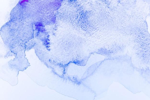 Aquarela abstrata de fundo azul claro