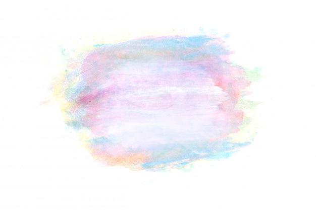 Aquarela abstrata em fundo branco