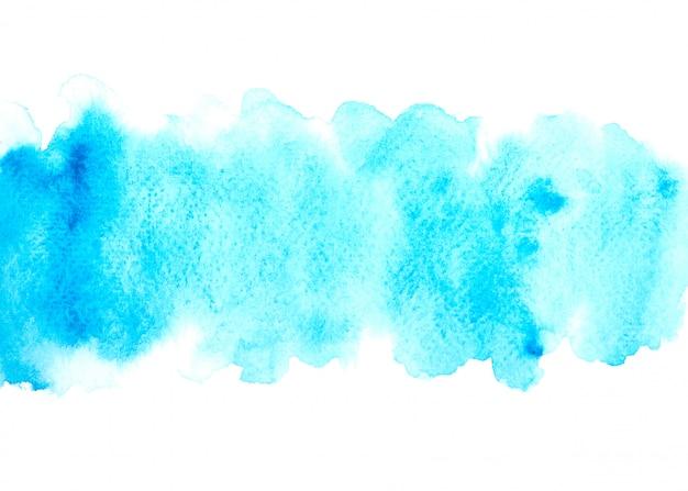 Aquarela azul com tons coloridos pintar o fundo do traçado
