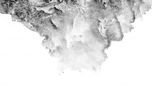 Aquarela cinza abstrata