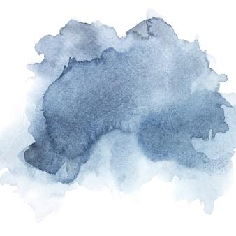 Aquarela cinza sobre papel.