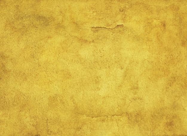 Aquarela de cor dourada