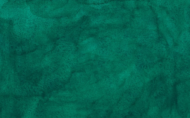 Aquarela de cor esmeralda profunda