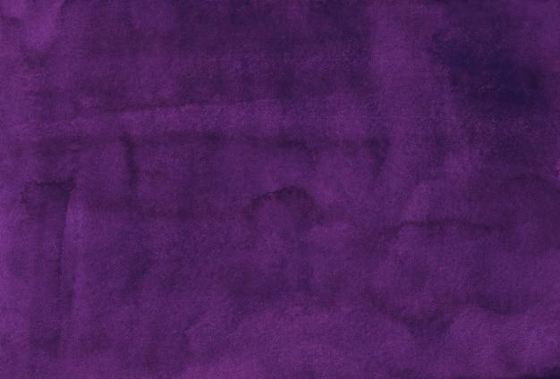Aquarela de cor roxa uva profunda