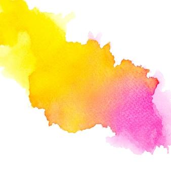 Aquarela de cor