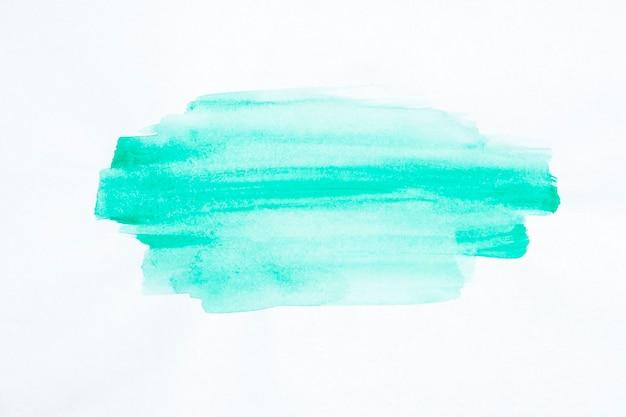 Aquarela de linha pincel azul pintada