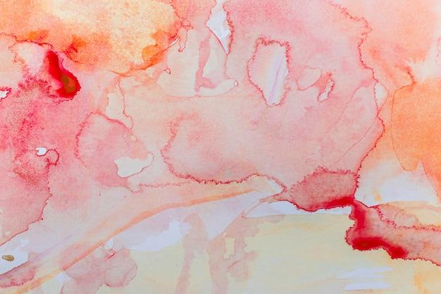 Aquarela gradiente de fundo colorido quente