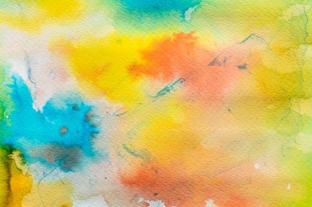 Aquarela gradiente de fundo colorido
