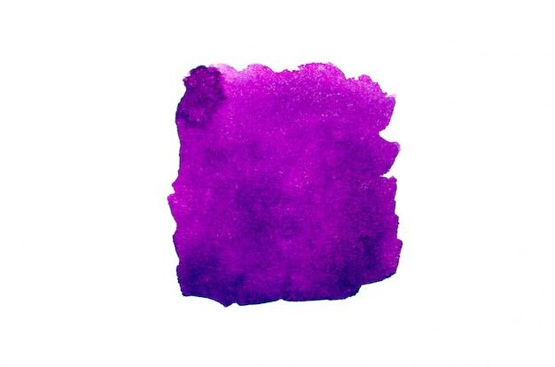 Aquarela rosa em papel
