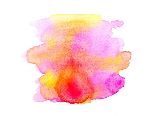 Aquarela rosa.