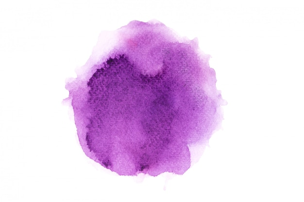 Aquarela roxa com fundo de respingo de cor