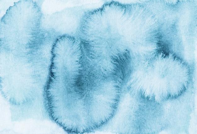 Aquarela turquouse cinza manchas em papel branco. cenário de pintados à mão.