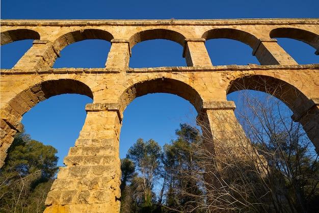 Aqueduto pont del diable em tarragona