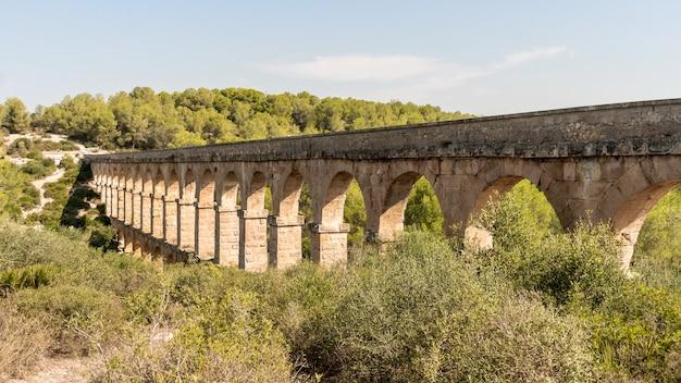 Aqueduto romano em tarragona