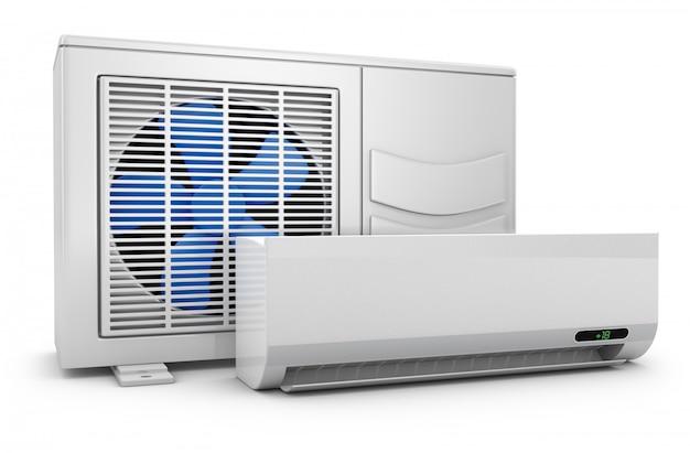 Ar condicionado moderno