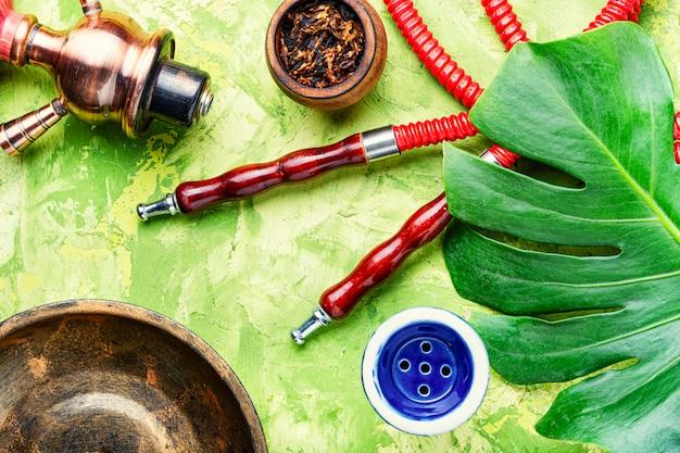 Arábia shisha com tabaco