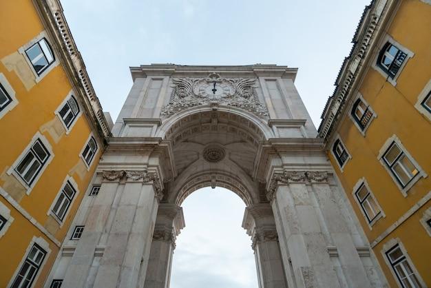Arco da praça comercial lisboa portugal
