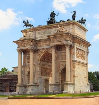 Arco della pace, milão