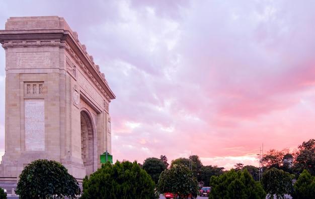 Arco do triunfo em bucareste