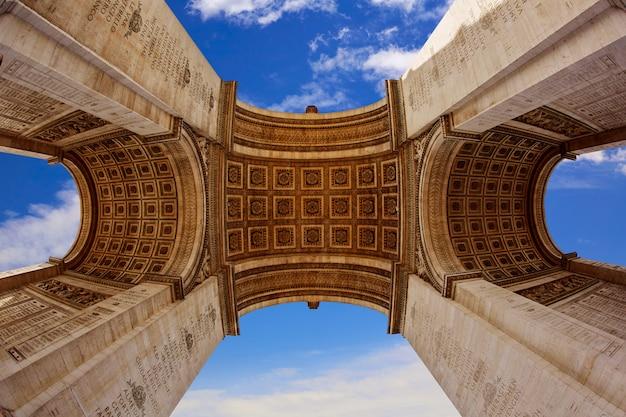 Arco do triunfo em paris arco do triunfo