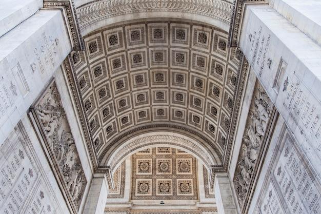 Arco do triunfo em paris