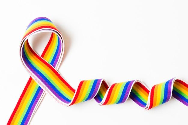 Arco-íris do orgulho gay de igualdade