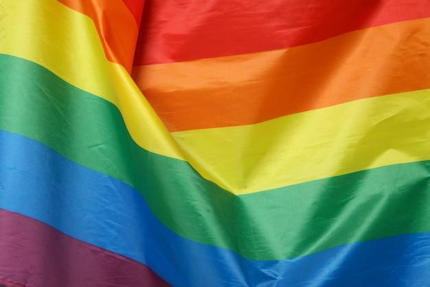 Arco-íris lgbt ou bandeira em todo o fundo